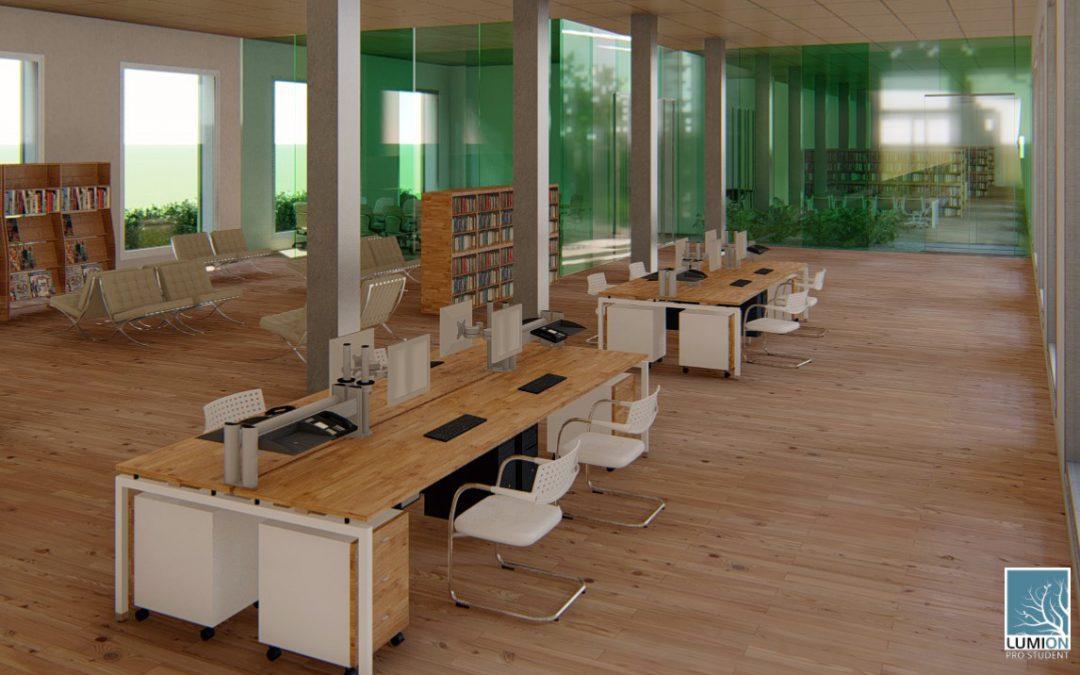 S'adjudiquen les obres d'adequació de la planta baixa i jardins de l'antic centre de salut per a la futura seu de la Biblioteca