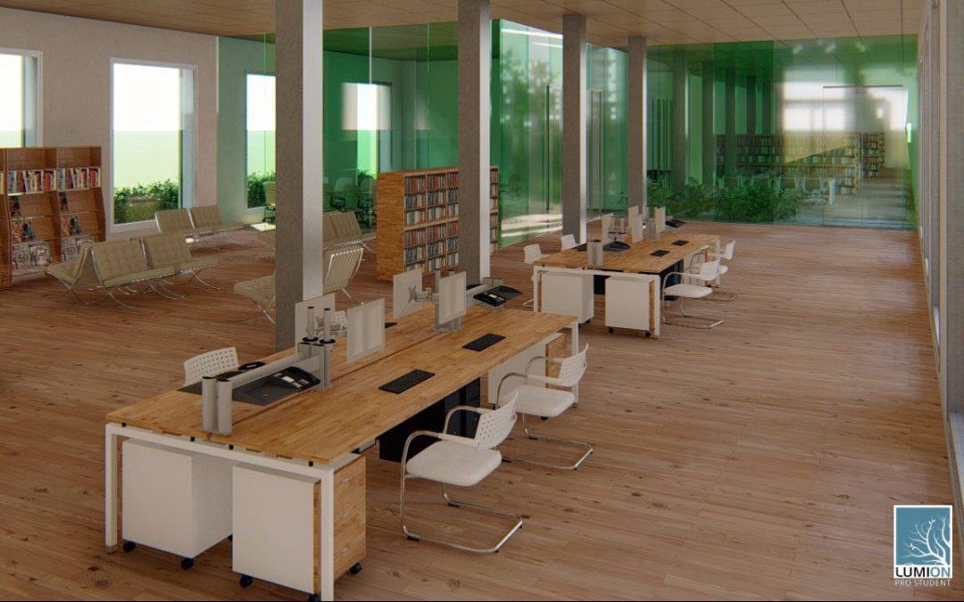 Se adjudican las obras de adecuación de la planta baja y jardines del antiguo centro de salud para la futura sede de la Biblioteca